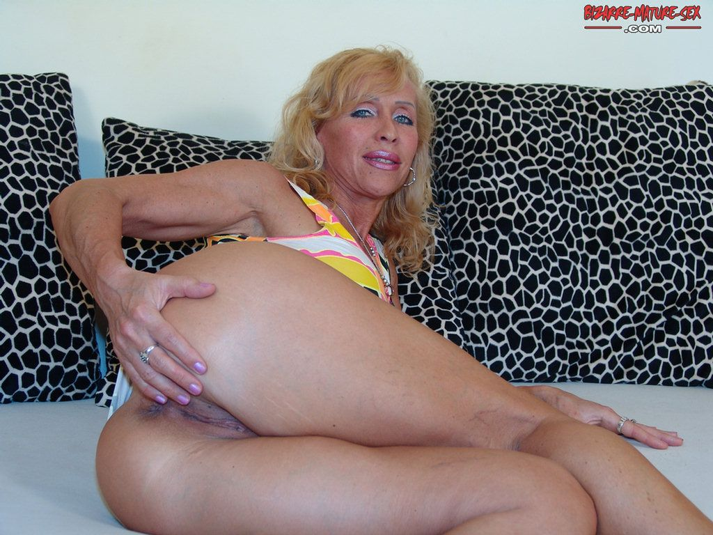 Blond milf loves his big cock 5
