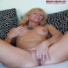 This hot blonde MILF loves to play with herself