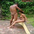 These black dudes love to fuck one mature nympho