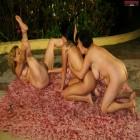 Three fisting ladies at play