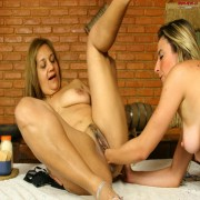 Two fisting mature sluts ready to dig deep