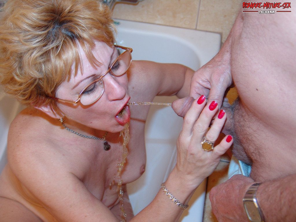 piss Bizarre sex mature