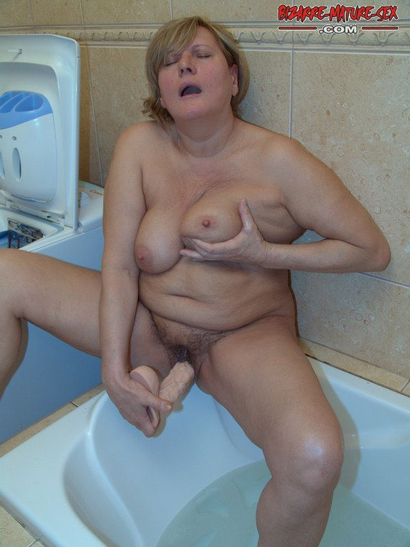 image Pissing and dildos in pussy russian chubby