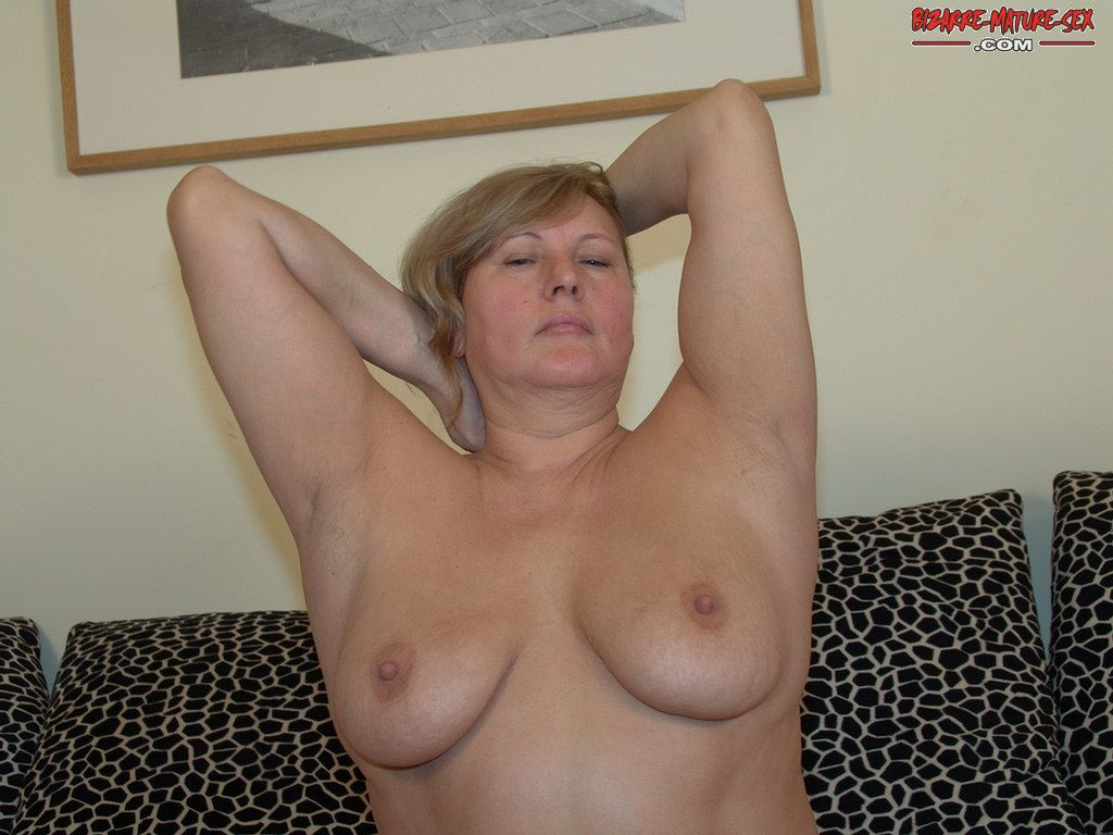 Shaved tied spread eagle