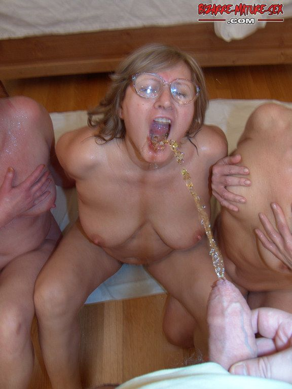 Mature foursome sex bizarre pissing commit error