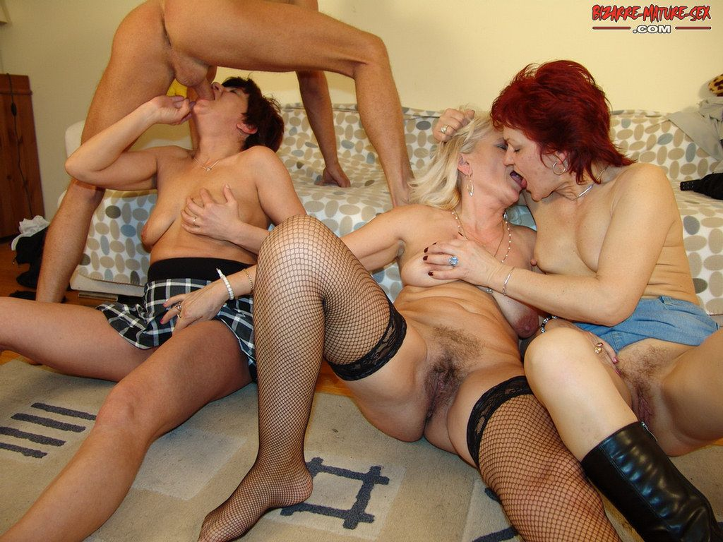 Group mature nude grannies pity, that