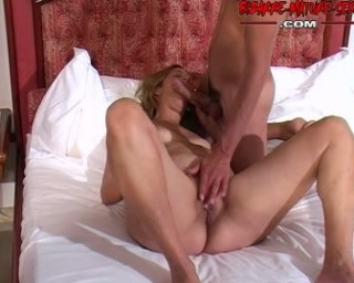 Two teesn prep a guy up for a kinky mature slut