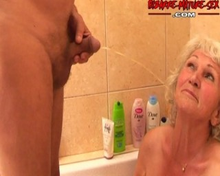 That's one kinky piss loving granny