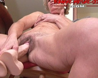 This kinky granny loves piss and toys