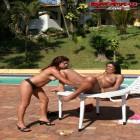Horny lesbian sluts fisting eachother