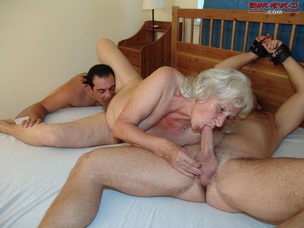 секс с родная бабуля