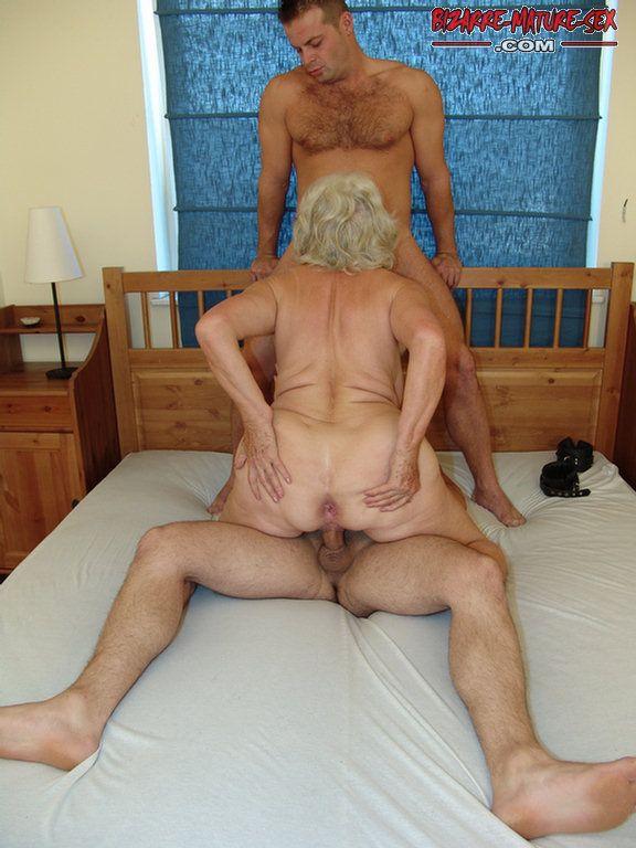 Two grandmas having sex