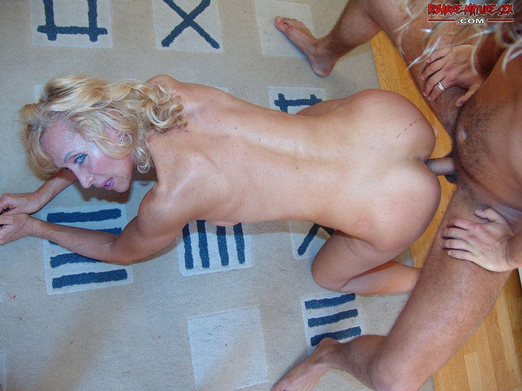 Hot blonde fucking and sucking