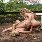 Horny mature lesbians fisting