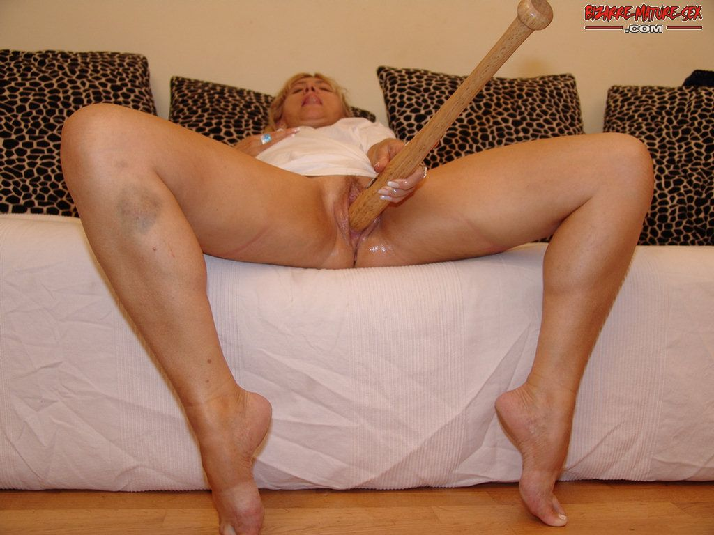 Accept. mature baseball bat sex this magnificent