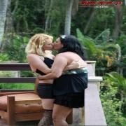 Mature lesbian gets fisted hard